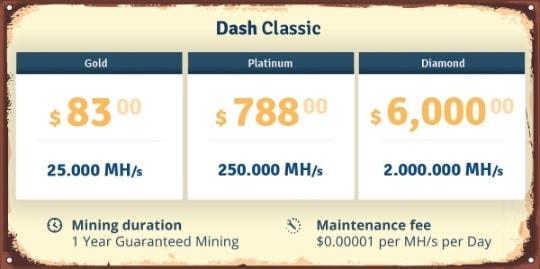 Genesis-mining-dash-classic-price