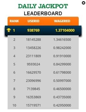 freebitcoin daily jackpot lider