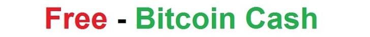 free bitcon cash