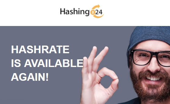 Hashing24 облачный майнинг