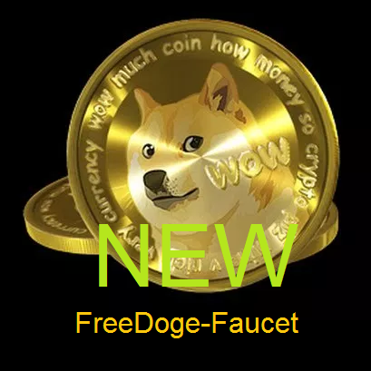 Кран Free Dogecoin faucet