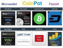 Все сайты краны сервиса CoinPot