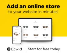 Ecwid - конструктор интернет-магазина
