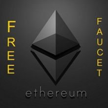 Free Ethereum faucet кран