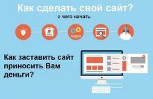 Как создать сайт для заработка в интернете