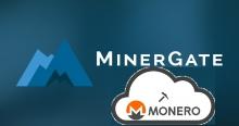 Облачный майнинг Monero на MinerGate
