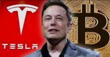 Tesla Илона Маска инвестирует в Биткоин